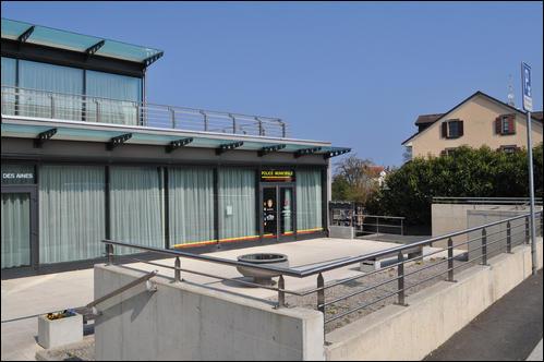 Photo du bâtiment de la police municipale